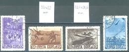 URSS - 1948 USED/OBLIT. - SPORT - Mi 1246 1247 I 1248 I 1249 Yv 1224-1227  -  Lot 15217 SEE SCAN
