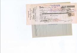 MANUFACTURE DE COTONS ET FLIS A COUDRE SAM LENO - Bills Of Exchange