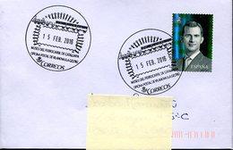 18544 Spain, Special Postmark 2016 Vilanova,  Railway Museum Of Catalunya - Trains