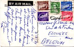 CP Du Canada Pour Elouges 1954