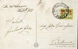 18551 Vaticano,  Circuled Card 1932  From Vaticano To Belluno