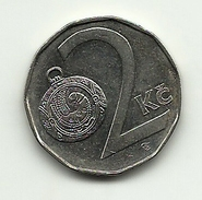1993 - Ceca Repubblica 2 Koruny, - Tchéquie