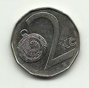 1993 - Ceca Repubblica 2 Koruny, - Repubblica Ceca