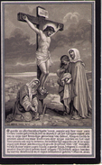 Doodsprentje :  Martinus - Arnoldus GERETS ---  Reickheim  1883