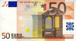 50 Euro - 2002 - Italie - Jean Claude Trichet - S19415909086 - J032B5 - Peu Circulé - EURO