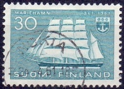Finland 1961 Marienhamn GB-USED