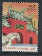 °°° INDIA - WHITE HORSE TEMPLE- 2008 °°°