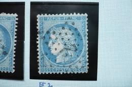 Ceres N°60   Varieté  Suarnet 101 2eme état (106G1)  Trait Devant Le Nez - 1871-1875 Cérès
