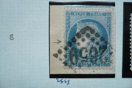 Ceres N°60   Varieté  Suarnet 102 Trait Devant Bouche GC 2659 - 1871-1875 Cérès