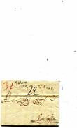 LETTRE DE SALERNO 1777 - 1. ...-1850 Prefilatelia