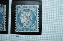 Ceres N°60   Varieté  Suarnet 105 - 1871-1875 Cérès
