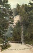 CPA - VAL-d'AJOL (88) - Aspect De La Route Du Val Et De La Roche Busnière En 1913 - France
