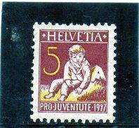 B - Svizzera 1927 - Pestalozzi