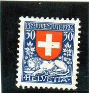 B - Svizzera 1926 - Stemma