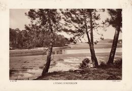 LANDES, L'ETANG D'HOSSEGOR, Planche Densité = 200g, Format 20 X 29 Cm, (Tastet) - Géographie