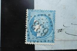Ceres N°60   Varieté  Suarnet (tache Sur Cheveux) 110 GC 633 - 1871-1875 Cérès