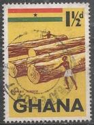 Ghana 1959. Scott #50 (U) Ghana Timber * - Ghana (1957-...)