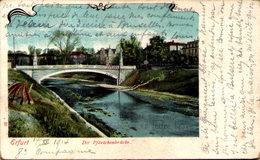 ERFURT - Die Pförtchenbrücke - Erfurt