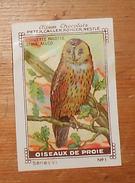 Image Chocolats Peter, Cailler, Kohler, Nestlé. Oiseaux De Proie. Chouette Hulotte. - Nestlé