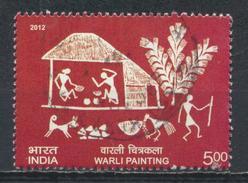 °°° INDIA - WARLI PAINTING - 2012 °°°