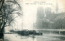 N°38414 -cpa Paris -notre Dame- Péniches- - Hausboote