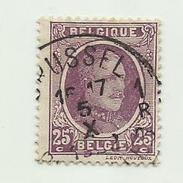 (507) Timbre Belgique Roi Albert I   N° 197 - 25c - 1922-1927 Houyoux