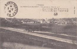CPA (LA NEUVILLE AU PONT 1916 FM Cachet Trésor Et Postes 38 - Unclassified