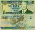FIJI       2 Dollars      Comm.      P-102a       2000       UNC - Figi