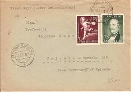 (St.Post.).Austria.Lettera Per Trieste Del 10 Mar 1952 (254-15)