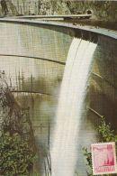 55850- VIDRARU DAM, WATER POWER PLANT, ENERGY, MAXIMUM CARD, 1979, ROMANIA