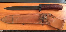 Baïonnette Tchèque VZ 58, 1 Rivet, Soie Courte, Croisière Longue,  Variante 3 - Armes Blanches