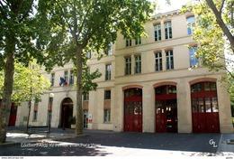 Paris XV (75)- Pavillon Violet: Caserne De Pompiers (EDITION à TIRAGE LIMITE) - District 15