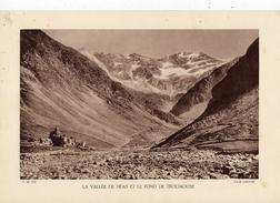 LA VALLEE DE HEAS ET LE FOND DE TROUMOUSSE, Planche Densité = 200g, Format 20 X 29 Cm, (Labouche) - Géographie