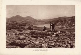 PYRENEES, LE MASSIF DE CARLITTE, Animée, Planche Densité = 200g, Format 20 X 29 Cm, (Papy) - Géographie