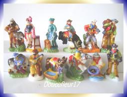 Western Et Cow Boy ... Série Complète De 12 Fèves... Ref AFF : 99-2009 ...(pan 008) - Personnages