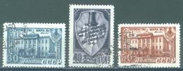 URSS - 1948 USED/OBLIT. - CHESS - Mi 1292-1294 Yv 1264-1266 -  Lot 15218
