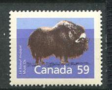 193 CANADA 1981 - Yvert 1081 - Boeuf Musque -  Neuf ** (MNH) Sans Trace De Charniere