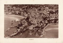 PYRENEES ATLANTIQUES, BIARRITZ, Vue Générale, Planche Densité = 200g, Format 20 X 29 Cm, (C.A.F.) - Géographie