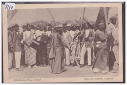 CONGO BELGE - KINSHASA - NOIRS DES COLONIES ANGLAISES - CARTE NEUVE - TB - Kinshasa - Léopoldville