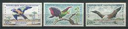 193 CENTRAFRICAINE (Rep) 1960 - Yvert A 1/3 - Oiseau -  Neuf ** (MNH) Sans Trace De Charniere