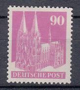 DUTSLAND (AMERIKAANSE - En BRITSE ZONE) - Michel - 1948 - Nr 96 Eg  (T/D 14) - MH* (MOOI) - Zone Anglo-Américaine