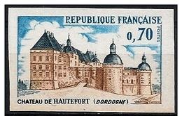 Francia/France: Non Dentellato, Non Dentelé, Imperforated, Castello, Castle, Château