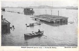 75 - PARIS Inondations De 1910  ( Série PARIS INONDE ) Porte De Bercy - CPA ( Collection Taride ) - Paris Flood, 1910
