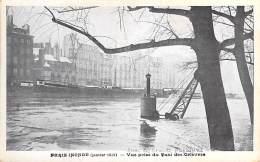 75 - PARIS Inondations De 1910  ( Série PARIS INONDE ) Vue Prise Du Quai Des Orfèvres - CPA ( Collection Taride ) - De Overstroming Van 1910