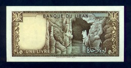 Banconota Libano 1 Livre 1964-78 FDS - Libano