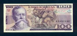Banconota Messico 100 Pesos 1981 FDS - Messico