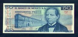 Banconota Messico 50 Pesos 1978/79 FDS - Messico