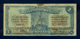Banconota Messico 1 Peso 1915 - Mexico