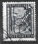 1946 15g Forchtenstein Castle, Used