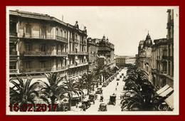 Algérie    Oran , Boulevard Gallioni   édition Cap    ( Scan Recto Et Verso ) - Oran